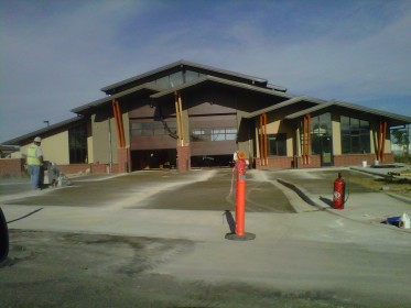 Arvada Fire Station Painting
