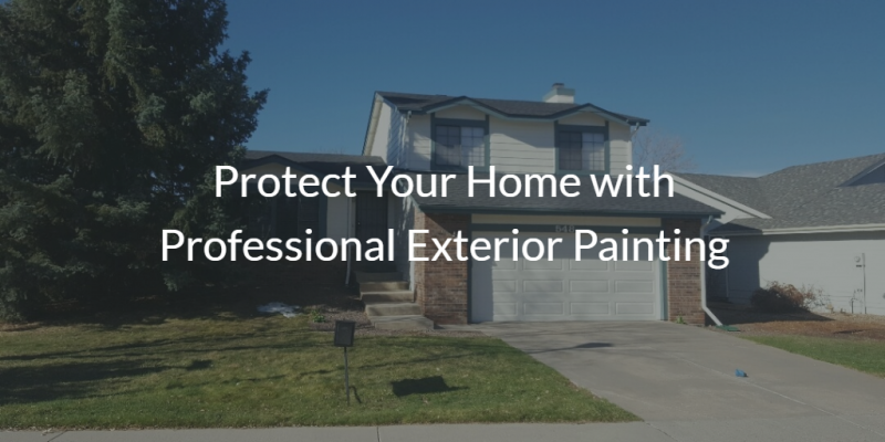 Protect Your Home with Professional Exterior Painting